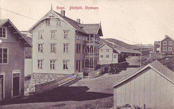 Sogn. Filefjeld, Nystuen.
