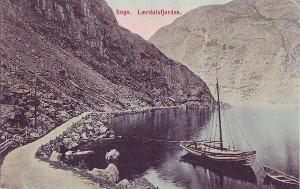 Sogn. Lærdalsfjorden.
