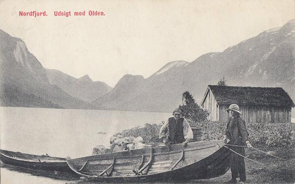 Nordfjord. Udsigt mod Olden.