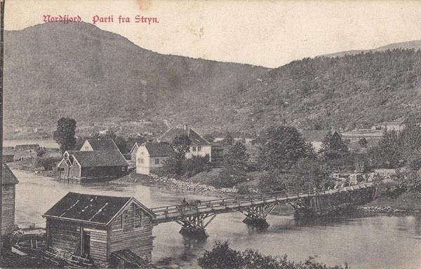 Nordfjord. Parti fra Stryn.