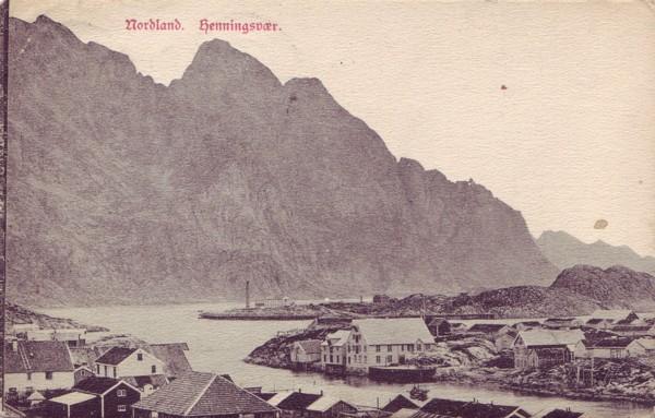 Nordland.  Henningsvær.
