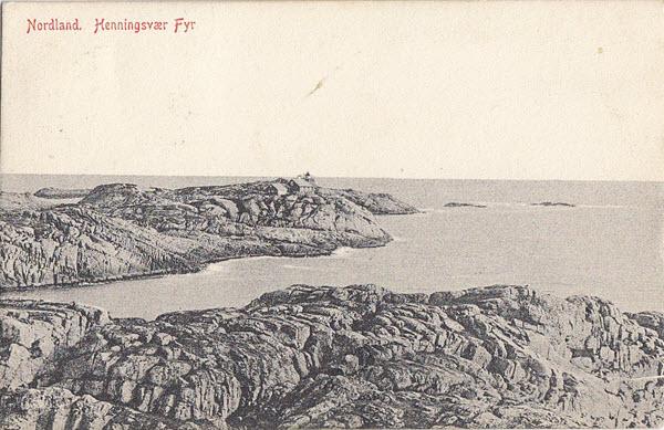 Nordland. Henningsvær Fyr