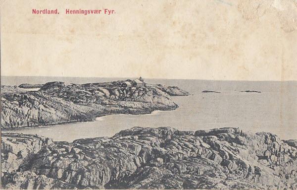 Nordland. Henningsvær Fyr.