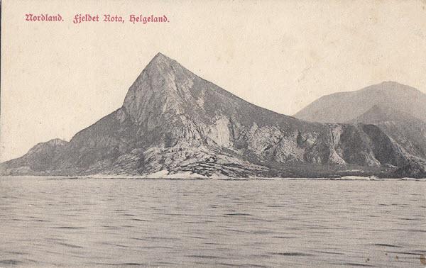 Nordland. Fjeldet Rota, Helgeland.