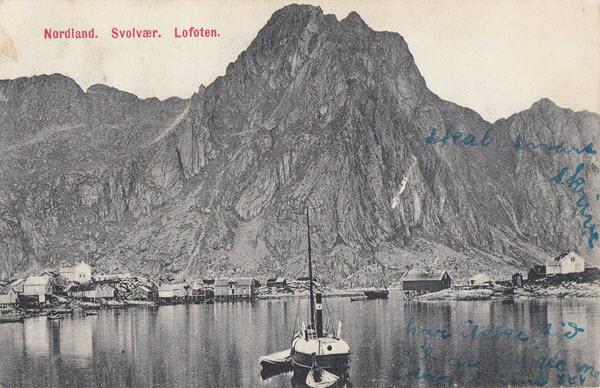Nordland. Svolvær, Lofoten.