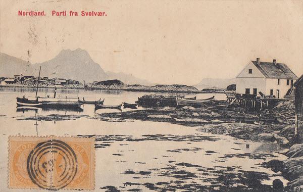 Nordland. Parti fra Svolvær