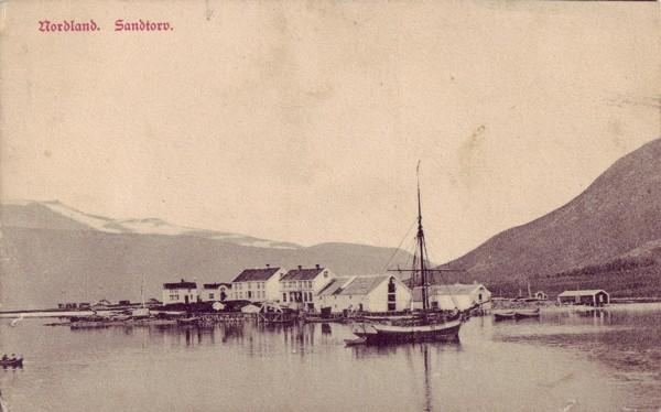 Nordland. Sandtorv.