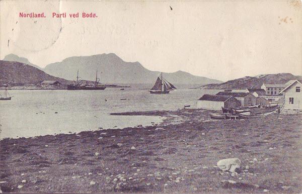 Nordland. Parti ved Bodø.