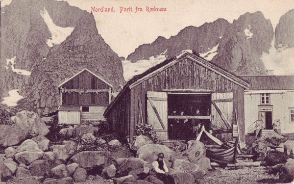 Nordland. Parti fra Ræknæs