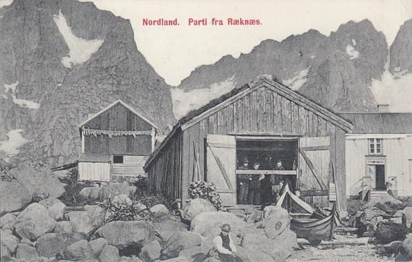 Nordland. Parti fra Ræknæs.