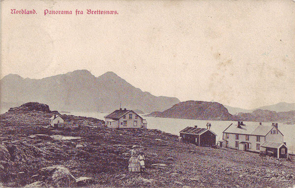 Nordland. Panorama fra Brettesnæs.