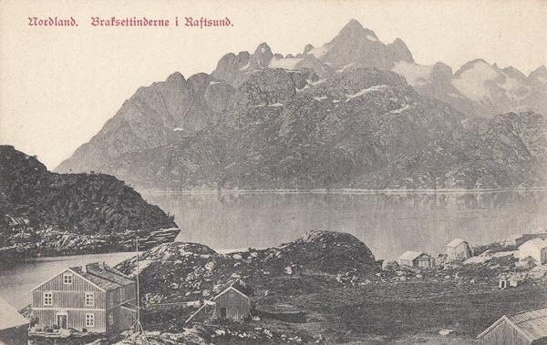 Nordland. Braksettinderne i Raftsund.