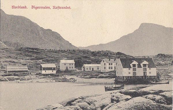 Nordland. Digermulen, Raftsundet.