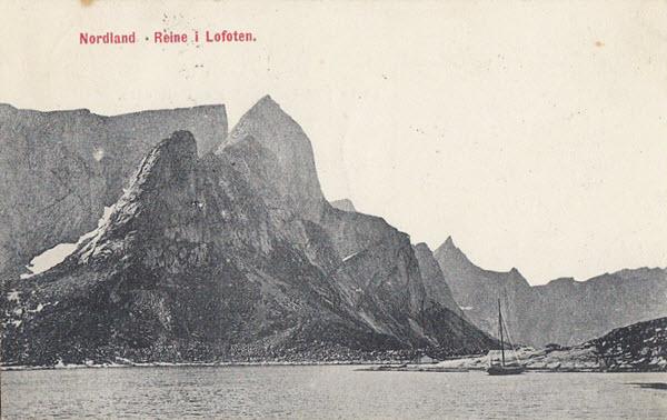 Nordland Reine i Lofoten.