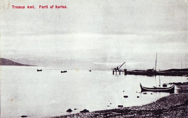 Tromsø Amt. Parti af Karlsø.