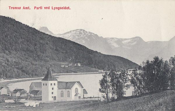 Tromsø Amt. Parti ved Lyngseidet.