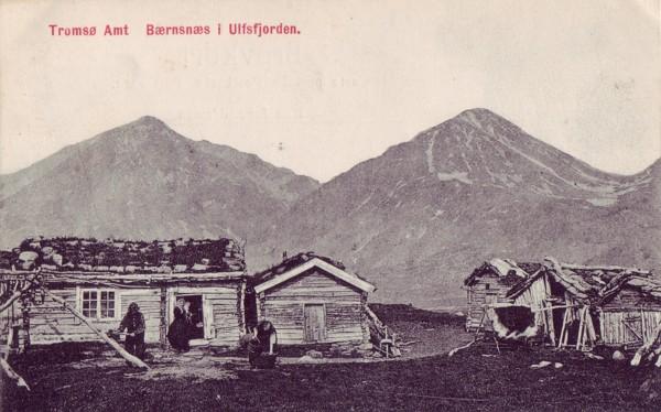 Tromsø Amt Bærnsnæs i  Ulfsfjorden.