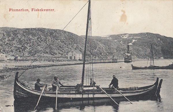 Finmarken, Fiskekvæner.