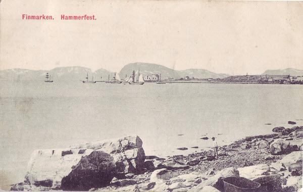Finmarken. Hammerfest.