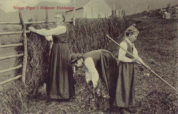 Norge Piger i Höaaner Hardanger