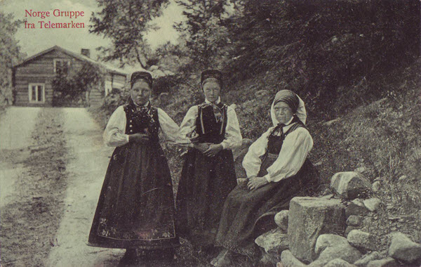 Norge Gruppe fra Telemarken