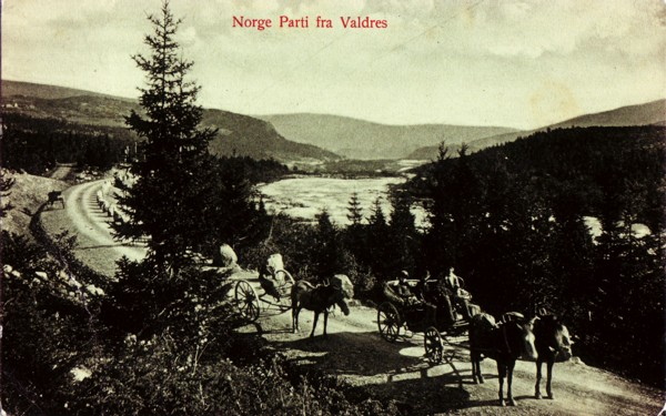 Norge Parti fra Valdres