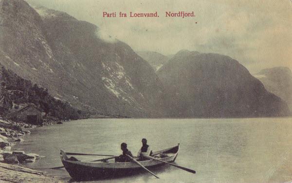 Parti fra Loenvand. Nordfjord.