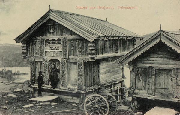 Stabur paa Bredland, Telemarken