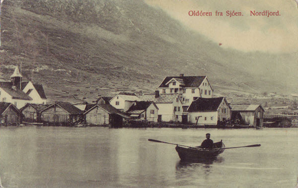 Oldóren fra Sjóen. Nordfjord.