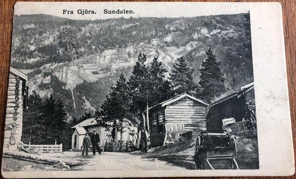 Fra Gjöra. Sundalen.