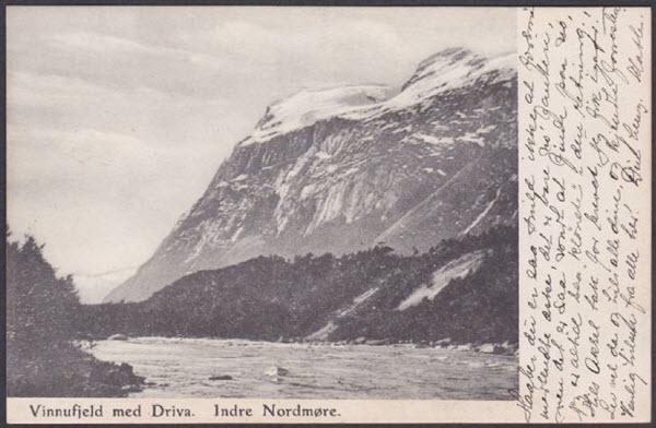 Vinnufjeld med Driva. Indre Nordmøre.