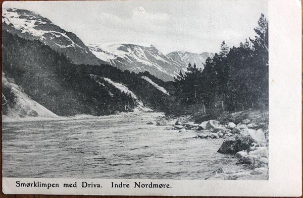 Smørklimpen med Driva. Indre Nordmøre.