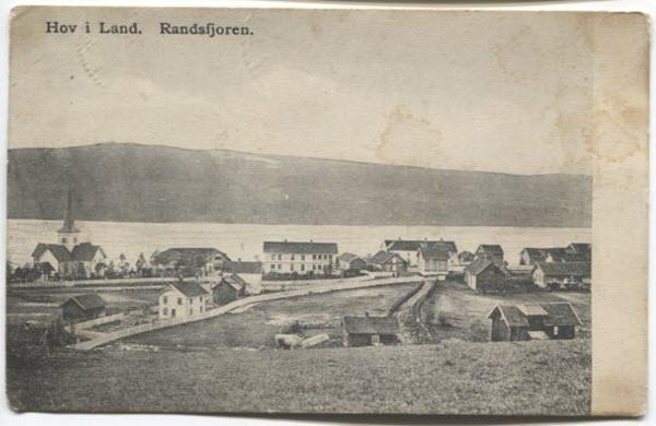 Hov i Land, Randsfjorden.