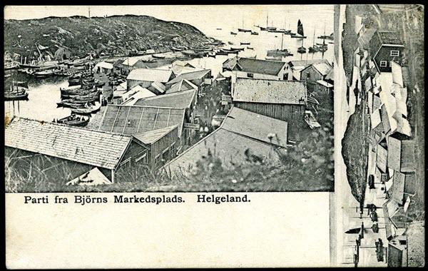 Parti fra Björns Markedsplads. Helgeland.
