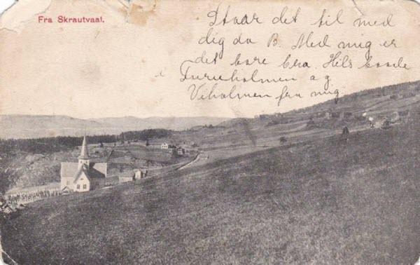 Fra Strautvaal.