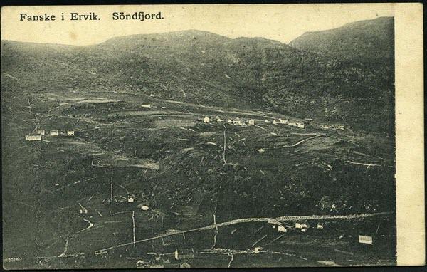 Fanske i Ervik, Söndfjord.