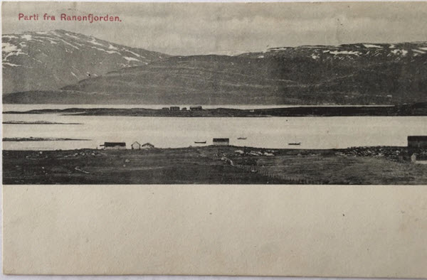 Parti fra Ranenfjorden.