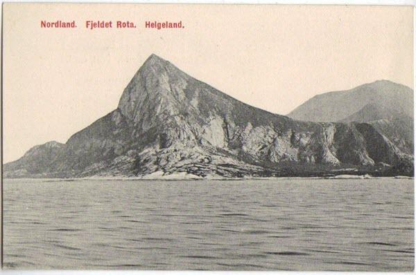 Nordland. Fjeldet Rota. Helgeland.