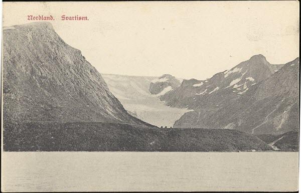 Nordland. Svartisen.